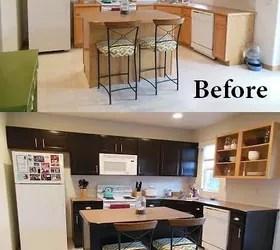 Gel Stained Kitchen Cabinets Hometalk