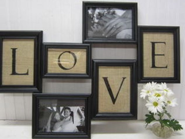 Backless Frames Make Trendy Home Decor