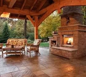 Outdoor Fireplace Idea  Hometalk