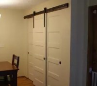 New Pantry Build With Sliding Barn-style Doors # ...
