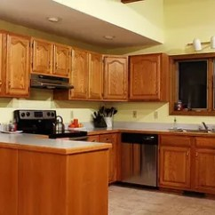 Oak Cabinet Kitchen How To Organize Your Cabinets And Drawers 5 Top Wall Colors For Kitchens With Hometalk Design Paint