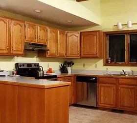 oak cabinets kitchen sinks at menards 5 top wall colors for kitchens with hometalk design paint