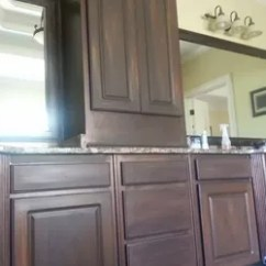 American Kitchen Cabinets Bay Window Treatments White Painted To Look Like Wood | Hometalk
