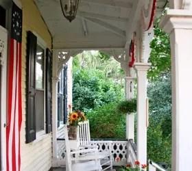 A Favorite Outdoor Space A Patriotic Victorian