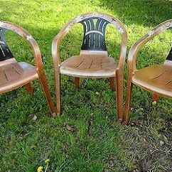 Redo Sling Patio Chairs Relax The Back Kneeling Chair Recycled Tyre - Rocky Road Backpackers South Africa | Hometalk
