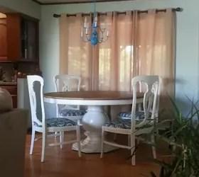 Craigslist Freebie Turned Amazing Dining Room Set for
