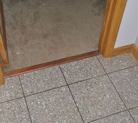 transition strip between tile and