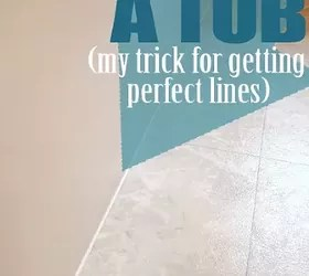 Recaulk a Tub in 5 Easy Steps plus My Trick for Perfect Lines  Hometalk