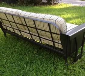vintage porch glider restoration hometalk