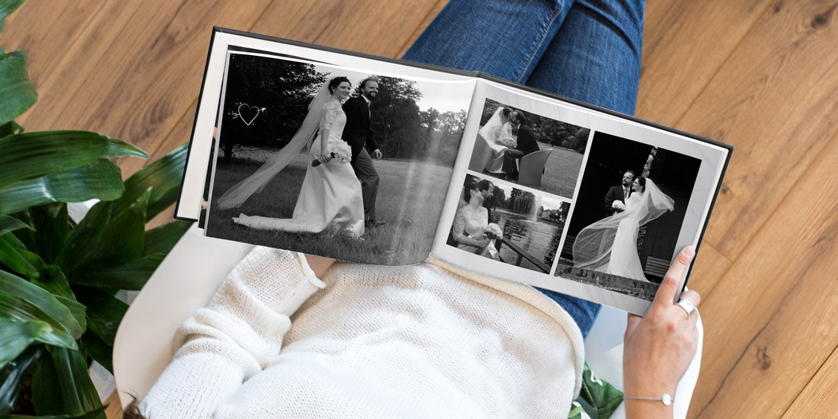 Discover wedding album ideas to remember your big day