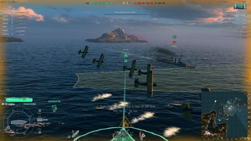 Captain's log, view basics   World of warships