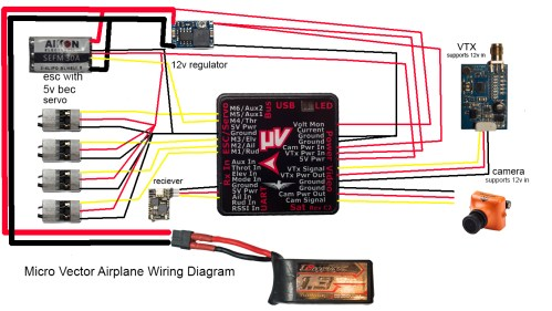 small resolution of vector fpv wiring diagram wiring diagram pass vector fpv wiring diagram