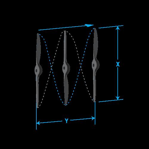 Gemfan DJI Style Propeller 9.4x4.3 bag (CW/CCW) (2pcs)