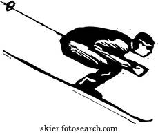 Downhill Skier Clipart EPS Images. 3,444 downhill skier