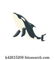 Arctic Whale Body Clip Art Vectors Our Top 12 Arctic Whale Body EPS Images Fotosearch