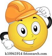 clipart of good job smiley k13030072