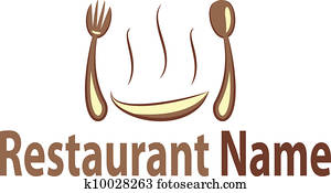 restaurant vector clipart clip fork cartoon woman illustration fotosearch spoon colourbox relaxing silhouette illustrations eps supplier