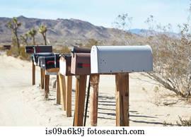 rural mailbox stock