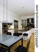 build kitchen table rules sign 图片银行 厨房 吃 area 前景 结霜的玻璃 桌子顶端 带 黑色 kitchens 在中 吃区域