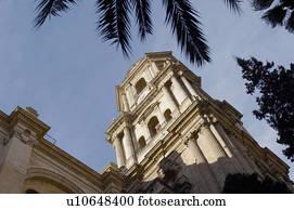 Espagne andalucia andalousie malaga ville ville btiment Banque de Photo  u13434138