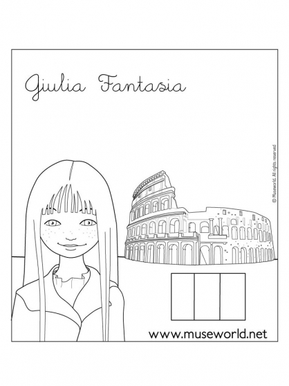 Marie Curie Page Coloring Pages