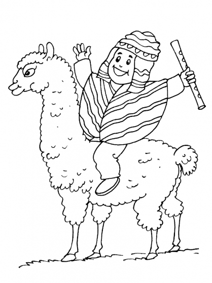 Inca Sun Symbol Coloring Pages Coloring Pages