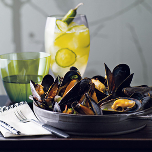 Mussels with Black Bean and Chile Sauce