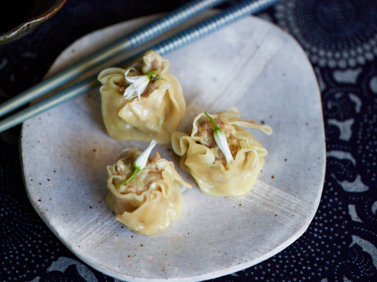 Shumai with Crab and Pork Recipe Food Wine