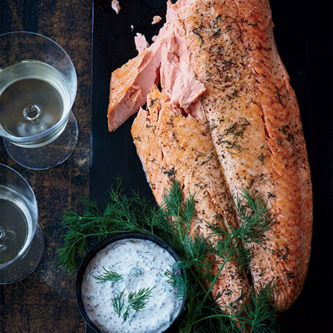 Food & Wine: Wild salmon fillet