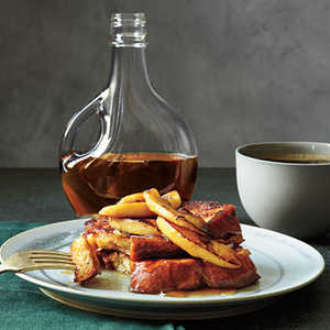 French Toast with Maple-Apple CompoteRecipe