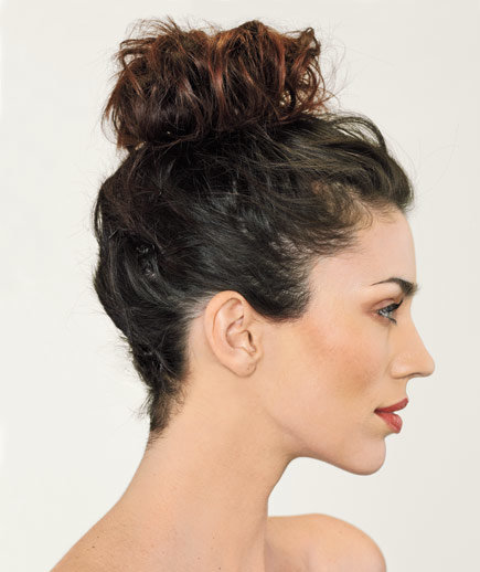The High Bun 5 Easy Hairstyles Real Simple