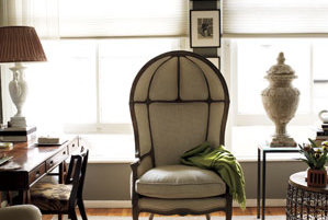 A Stately Chair Unique Home Decor Real Simple