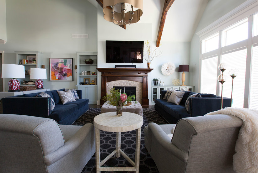 How To Decorate A Large Living Room