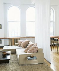 Divide a Large Space   Living Room Decorating Ideas   Real ...