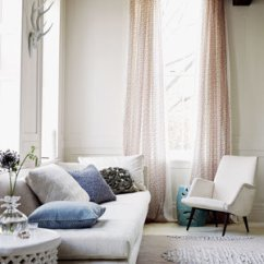 Accessorize Grey Living Room Luxury Furniture Sets 16 Apartment Decorating Ideas Real Simple Beige With Light Pink Curtains