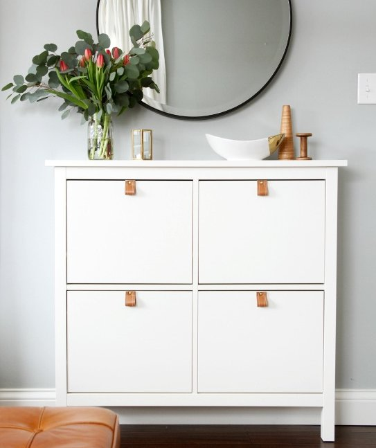 Shoe Storage  10 IKEA Hacks You Can Do In a Weekend  Real Simple