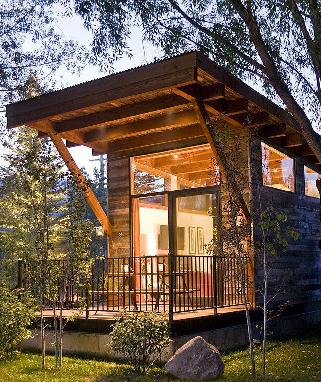 Ski Cabin In Jackson Hole Wyoming 10 Tiny Houses You