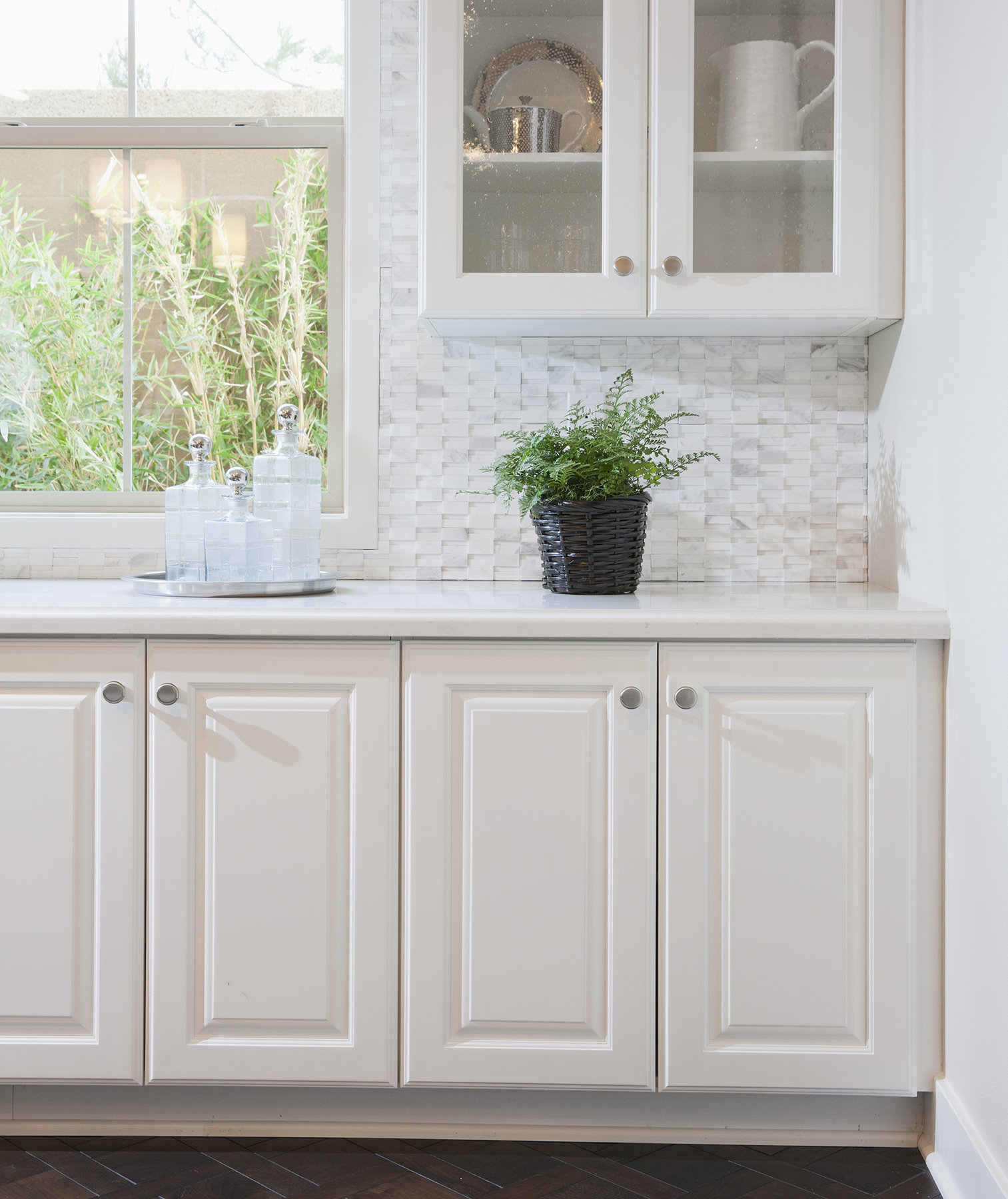Raised Panels on Cabinet Doors  How to Clean the Grossest