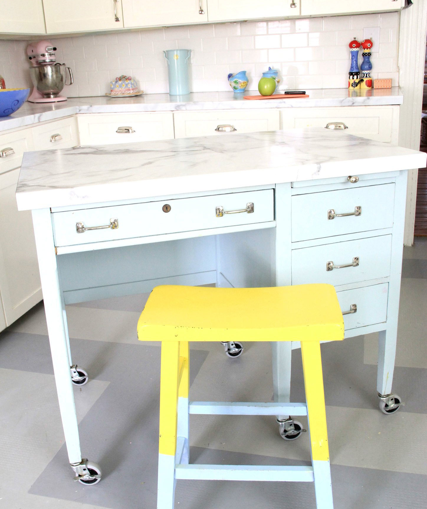 work station kitchen fisher faucets 7 diy islands to really maximize your space real