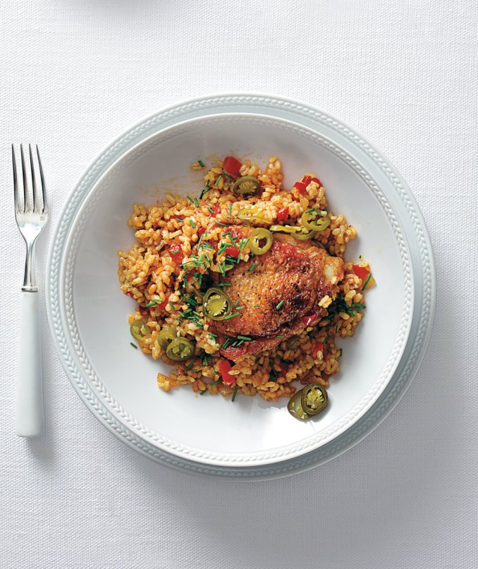 Easy Chicken Paella | Real Simple