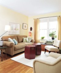 After | 14 Living-Room and Dining-Room Makeovers - Real Simple