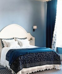 Shades of Blue | 30 Modern Bedroom Ideas - Real Simple