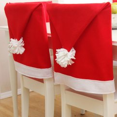 Dining Chair Covers For Christmas Conference Table Chairs With Casters Santa Hat Seat 7 Ways To Decorate Your