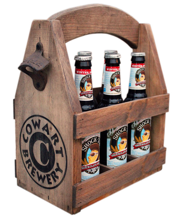 Wooden Six Pack Beer Tote The Best Gifts For Dad Real