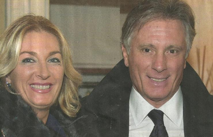 Giorgio e l'attuale fidanzata - Solonotizie24