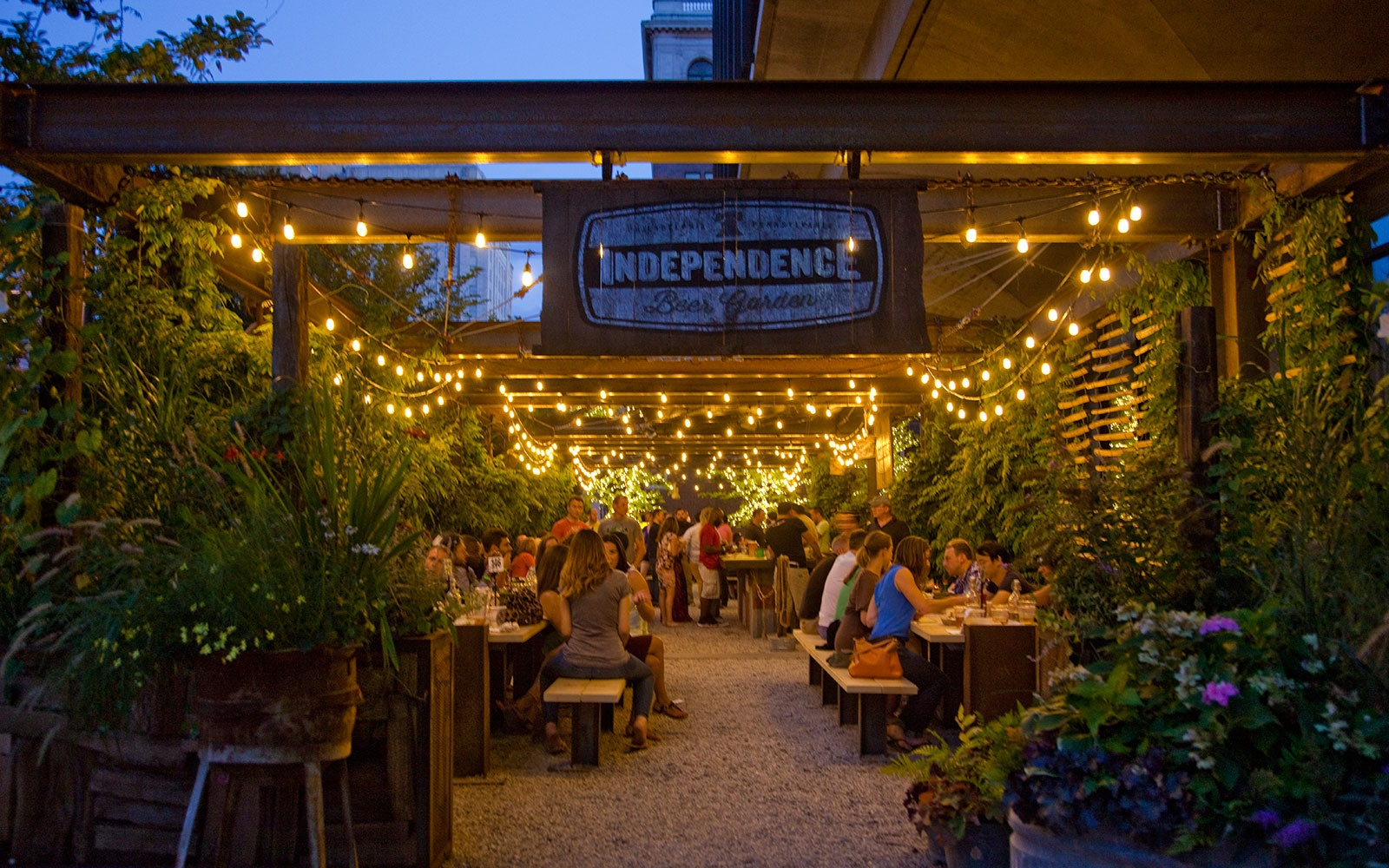 Philadelphia Beer Garden Independence