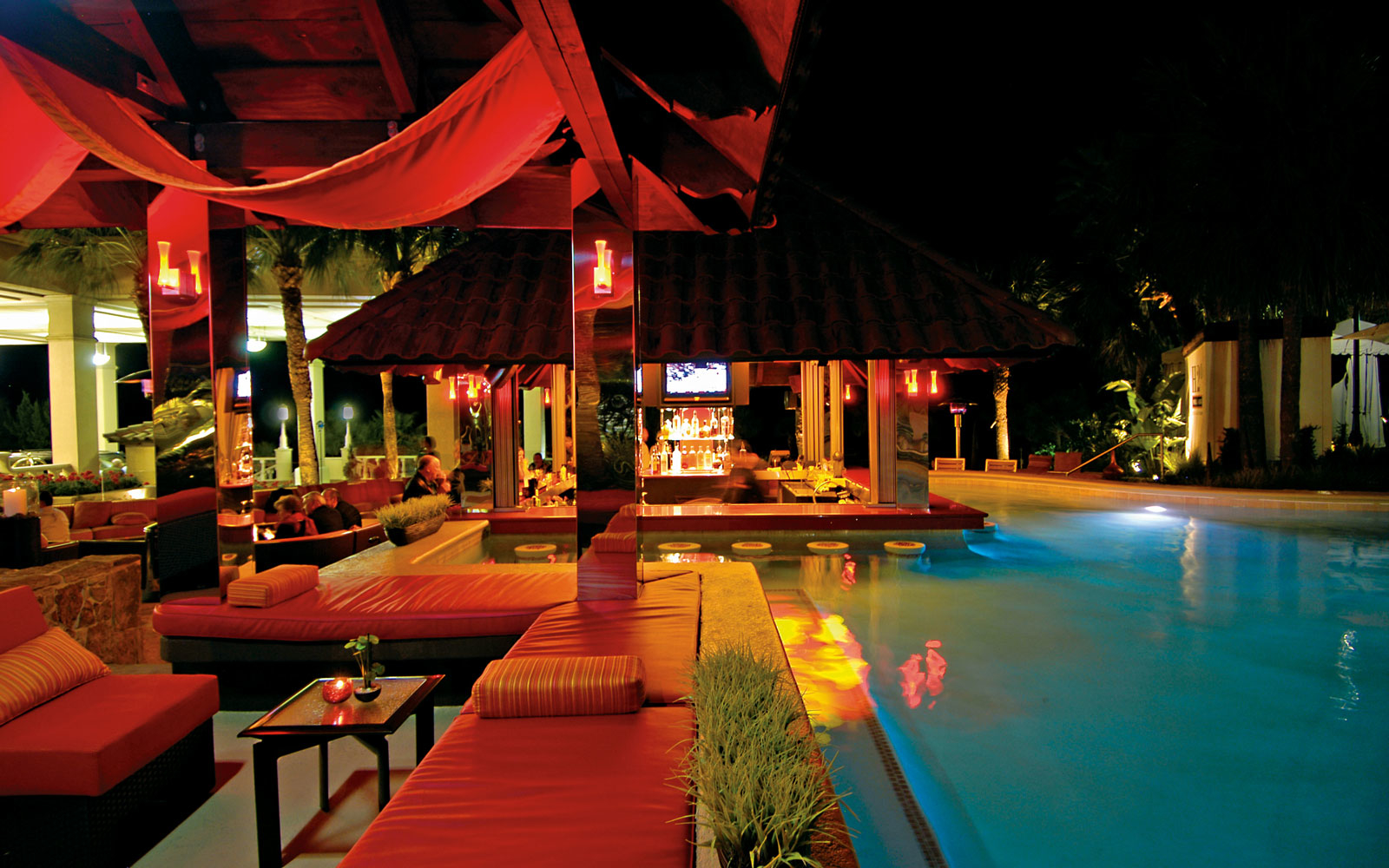 Coolest SwimUp Bars in the World  Travel  Leisure