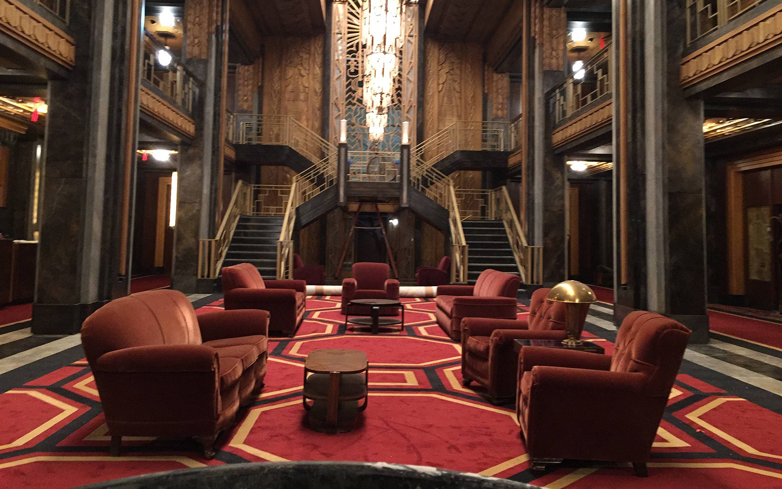 Talking Hotel Cortez With American Horror Story' Set