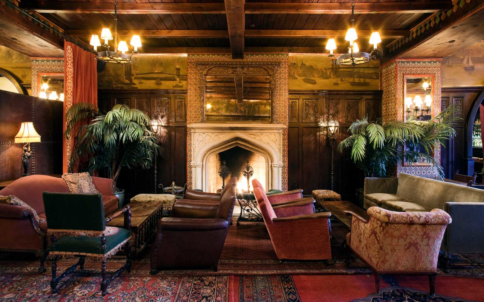 New Yorks Best Fireplace Bars  Travel  Leisure