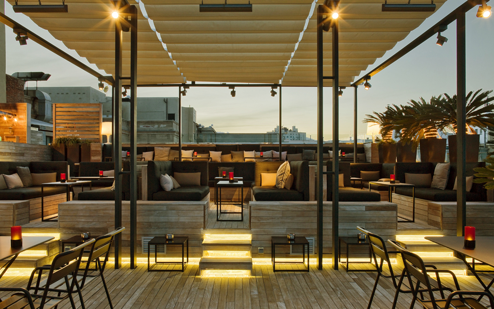 Skybar Grand Central Hotel Travel Leisure